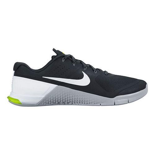 Mens Nike MetCon 2 Cross Training Shoe - White/Black 10.5