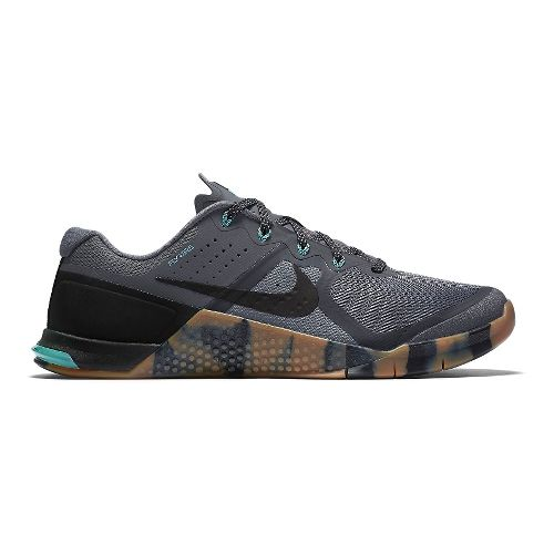 Mens Nike MetCon 2 Cross Training Shoe - Grey/Turquoise 8