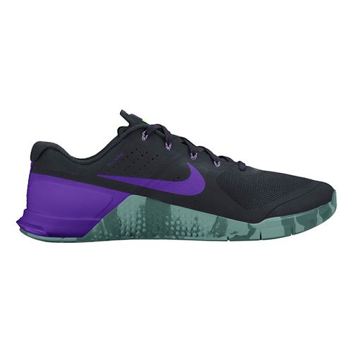 Mens Nike MetCon 2 Cross Training Shoe - Black/Purple 10.5