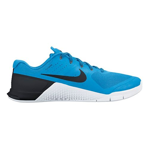Mens Nike MetCon 2 Cross Training Shoe - White/Black 10