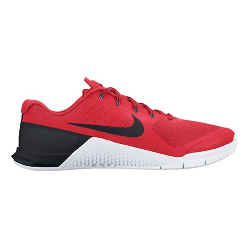 Mens Nike MetCon 2 Cross Training Shoe - Red 10.5