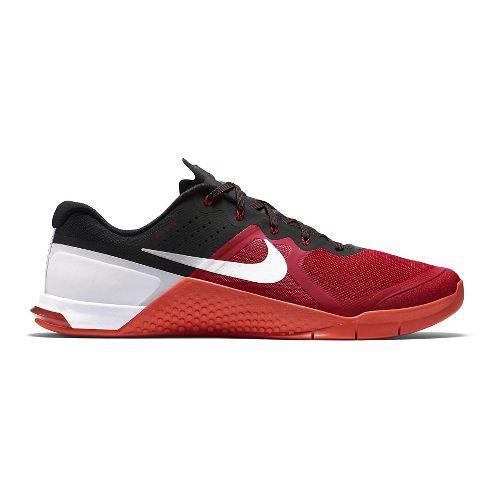 Mens Nike MetCon 2 Cross Training Shoe - Red/Black 11.5