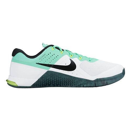 Womens Nike MetCon 2 Cross Training Shoe - Green Glow 7