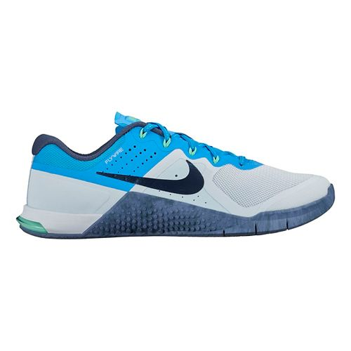 Womens Nike MetCon 2 Cross Training Shoe - Blue 10.5