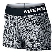 "Womens Nike Pro 3"" Cool Tracer Compression & Fitted Shorts"