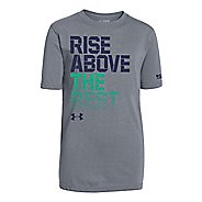 Kids Under Armour Rise Above The Best T Short Sleeve Technical Tops