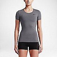 Womens Nike Pro Cool Short Sleeve Technical Tops - Light Photo Blue S