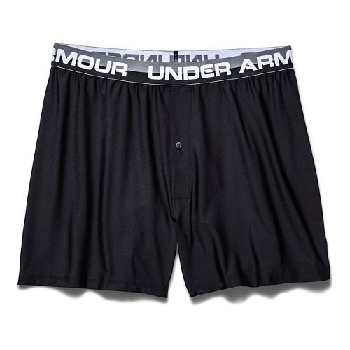 Mens Under Armour Original Series Boxer (Boxed) Boxer Brief Underwear Bottoms - Black M
