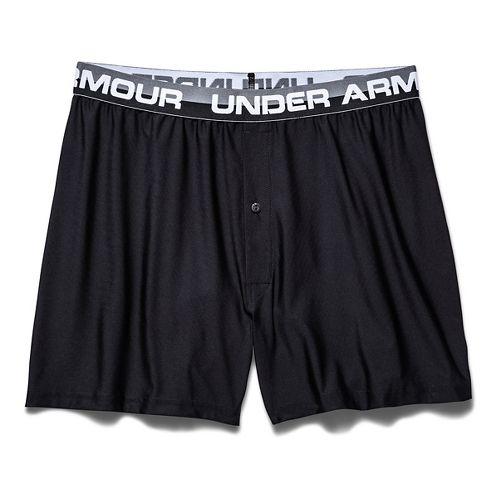 Mens Under Armour Original Series Boxer (Boxed) Boxer Brief Underwear Bottoms - Black XXL
