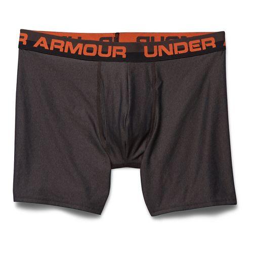 Mens Under Armour Original Series Boxer (Boxed) Boxer Brief Underwear Bottoms - Carbon Heather ...