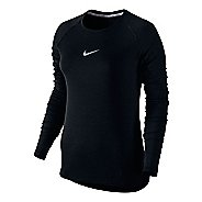 Womens Nike Aeroreact Long Sleeve Technical Tops