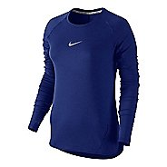 Womens Nike Aeroreact Long Sleeve Technical Tops