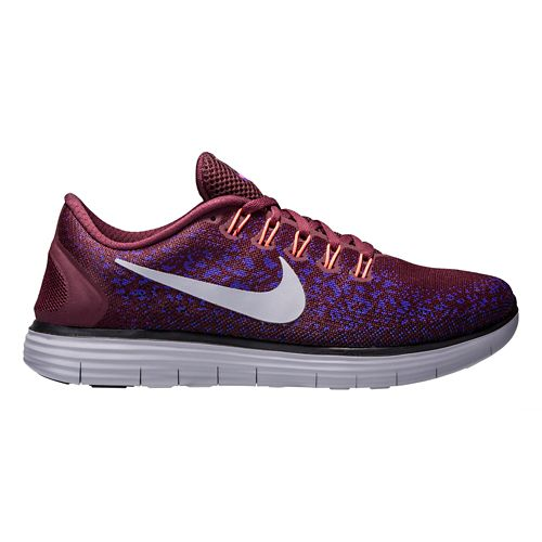 Mens Nike Free RN Distance Running Shoe - Maroon 12.5