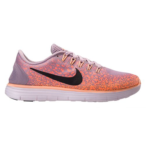 Womens Nike Free RN Distance Running Shoe - Plum/Mango 8.5