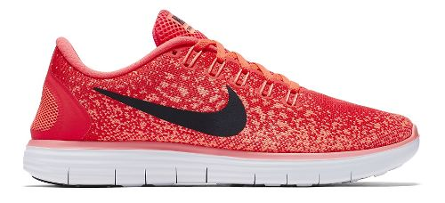 Womens Nike Free RN Distance Running Shoe - Bright Crimson 10.5