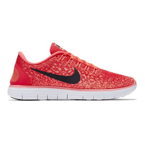 Womens Nike Free RN Distance Running Shoe - Bright Crimson 9