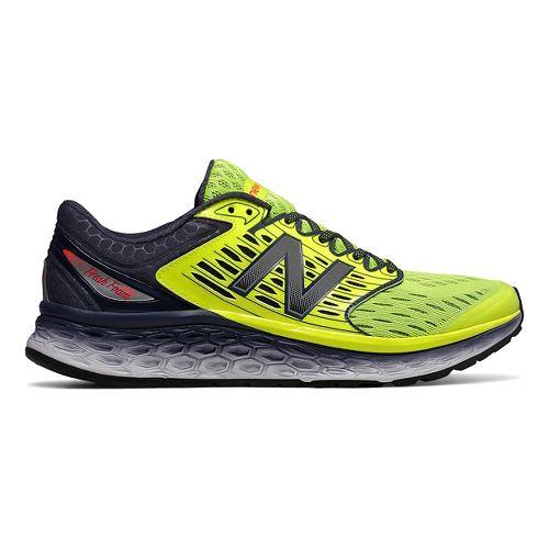 Mens New Balance Fresh Foam 1080v6 Running Shoe - Grey/Yellow 7.5