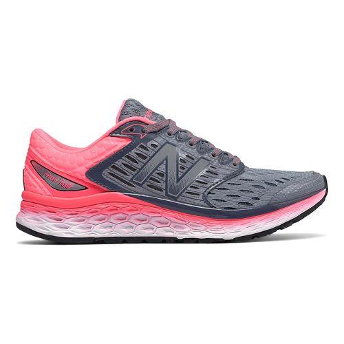 Womens New Balance Fresh Foam 1080v6 Running Shoe - Silver/Pink 7