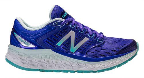 Womens New Balance Fresh Foam 1080v6 Running Shoe - Blue/White 6