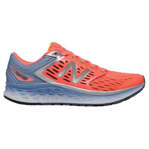 Womens New Balance Fresh Foam 1080v6 Running Shoe - Pink/Silver 9.5