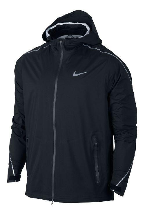 Mens Nike Hypershield Light Running Jackets - Black M