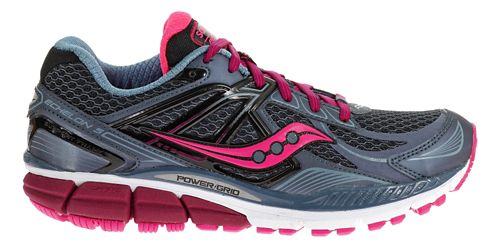 Womens Saucony Echelon 5 Running Shoe - Grey/Pink 9