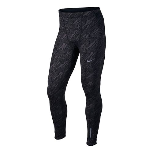 Mens Nike Dri-Fit Tech Elevate Tights & Leggings Pants - Black M