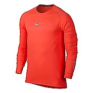 Mens Nike Aeroreact Long Sleeve Technical Tops
