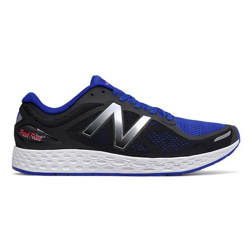 Mens New Balance Fresh Foam Zante v2 Running Shoe - Blue/Black 12