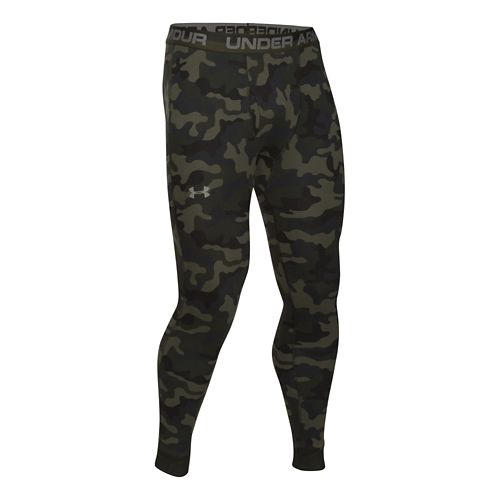 Mens Under Armour Amplify Legging Printed Full Length Tights - Rough M