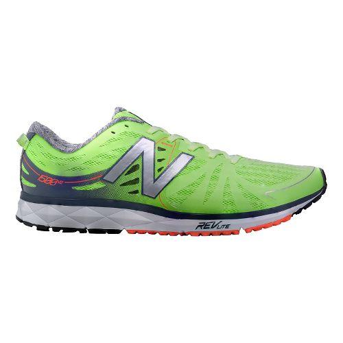 Mens New Balance 1500v2 Running Shoe - Green/Grey 7
