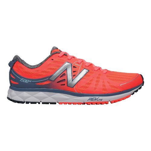 Womens New Balance 1500v2 Running Shoe - Coral/Grey 9.5