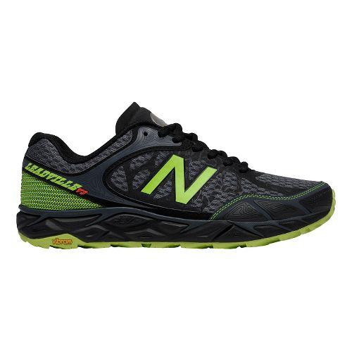 Mens New Balance Leadville v3 Trail Running Shoe - Grey/Green 12.5