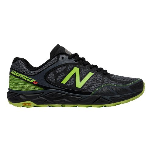 Mens New Balance Leadville v3 Trail Running Shoe - Grey/Green 7.5