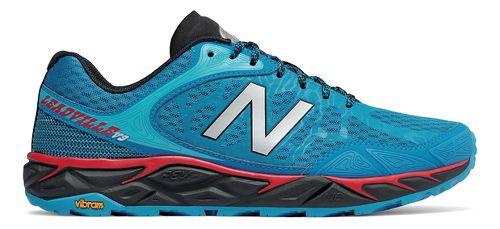 Mens New Balance Leadville v3 Trail Running Shoe - Blue/Black 7.5