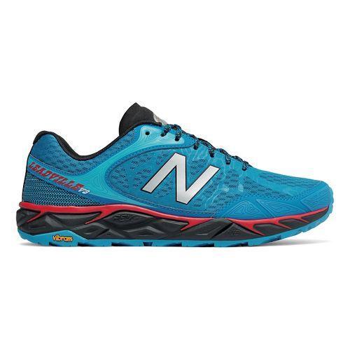 Mens New Balance Leadville v3 Trail Running Shoe - Blue/Black 10.5