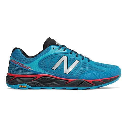 Mens New Balance Leadville v3 Trail Running Shoe - Blue/Black 11.5