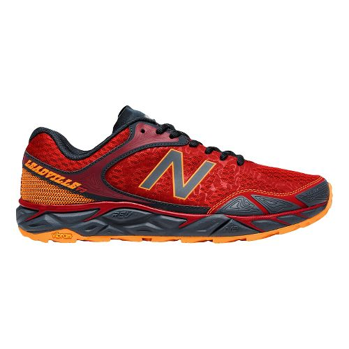 Mens New Balance Leadville v3 Trail Running Shoe - Red/Black 10.5