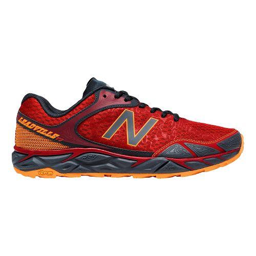 Mens New Balance Leadville v3 Trail Running Shoe - Red/Black 8.5