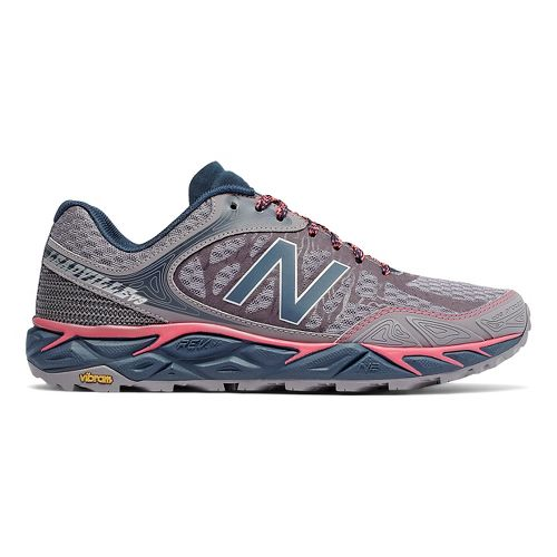 Womens New Balance Leadville v3 Trail Running Shoe - Plum/Pink 10.5
