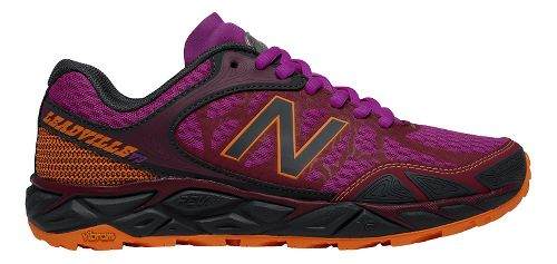 Womens New Balance Leadville v3 Trail Running Shoe - Azalea/Grey 5