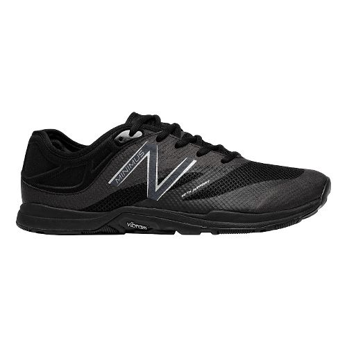 Mens New Balance Minimus 20v5 Trainer Cross Training Shoe - Black/Black 8.5