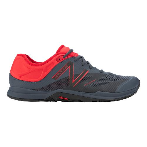 Mens New Balance Minimus 20v5 Trainer Cross Training Shoe - Black/Red 9.5