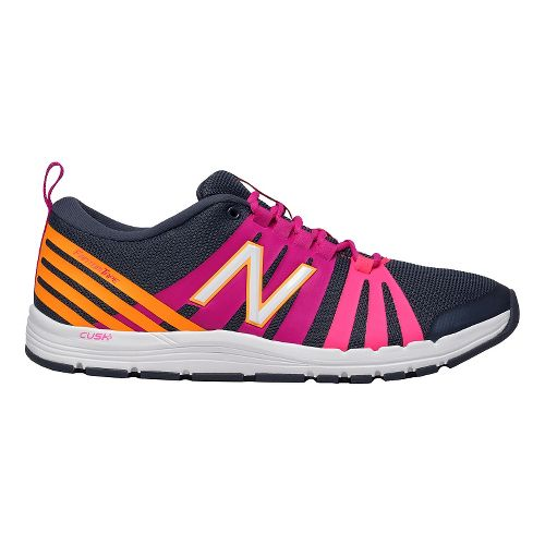 Womens New Balance 811 Cross Training Shoe - Grey/Azalea 9