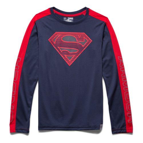 Kids Under Armour�Alter Ego Superman Reflective Longsleeve T