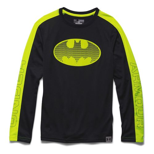 Kids Under Armour�Alter Ego Batman Reflective Longsleeve T