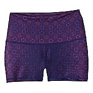 Womens Prana Luminate Compression & Fitted Shorts