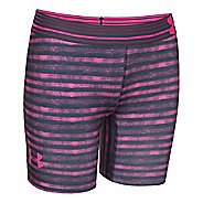 "Kids Under Armour HeatGear 5"" Printed Unlined Shorts"