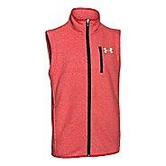 Kids Under Armour The ColdGear Infrared Survival Fleece Vest Running Vests