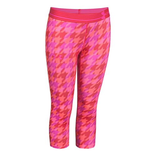 Kids Under Armour�Heatgear Armour Printed Capri